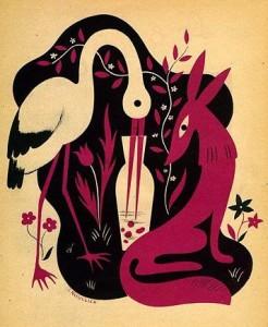 Vulpea si cocorul – Fabula de Esop